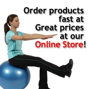Online Store female balance ball